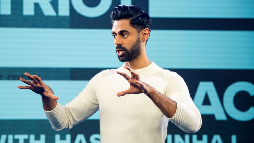 "- ""Patriot Act with Hasan Minhaj"" is a Netflix's political satire show – think ""Full Frontal with Samantha Bee"" meets ""Last week Tonight with John Oliver."""