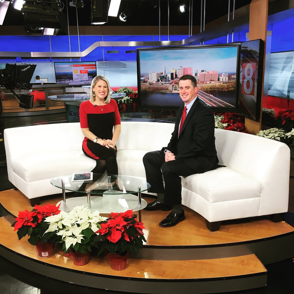 WTNH Newschannel 8 appearance
