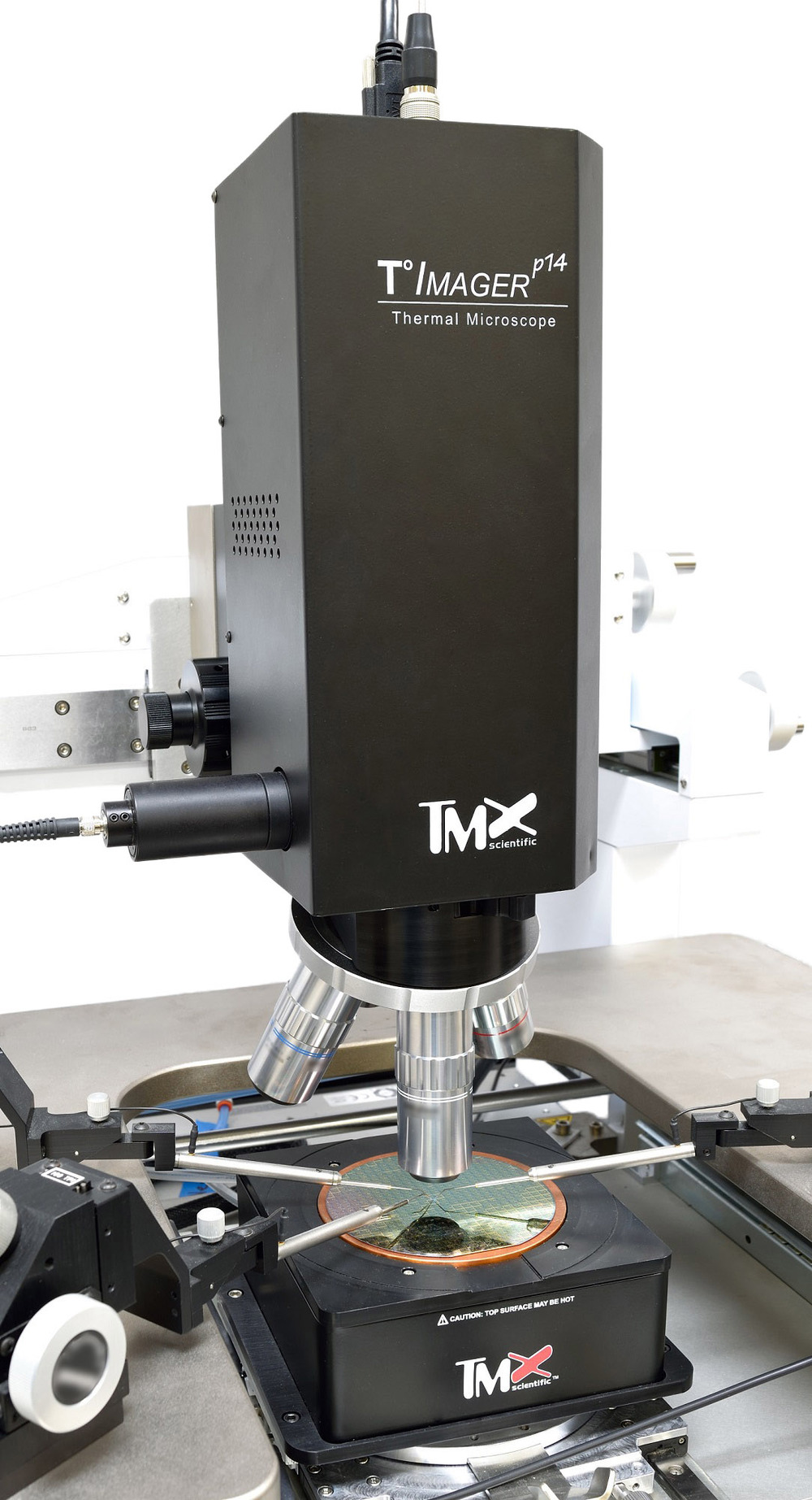 T°Imager P14 Measurement Head and Calibration Base