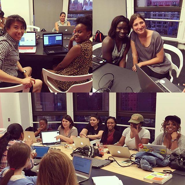HackNite: Website edition - July 2016 #wocintech #womenintech #nyctech