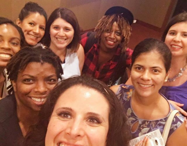 No podia faltar la group selfie 😆 #nyctech #nytm #womenintech #wocintech #innovation #entrepenueress