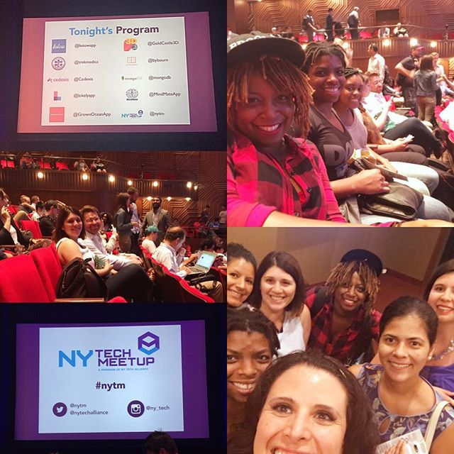 Looking forward to some great pitches! #nyctech #nytm #womenintech #wocintech #innovation #entrepreneuress