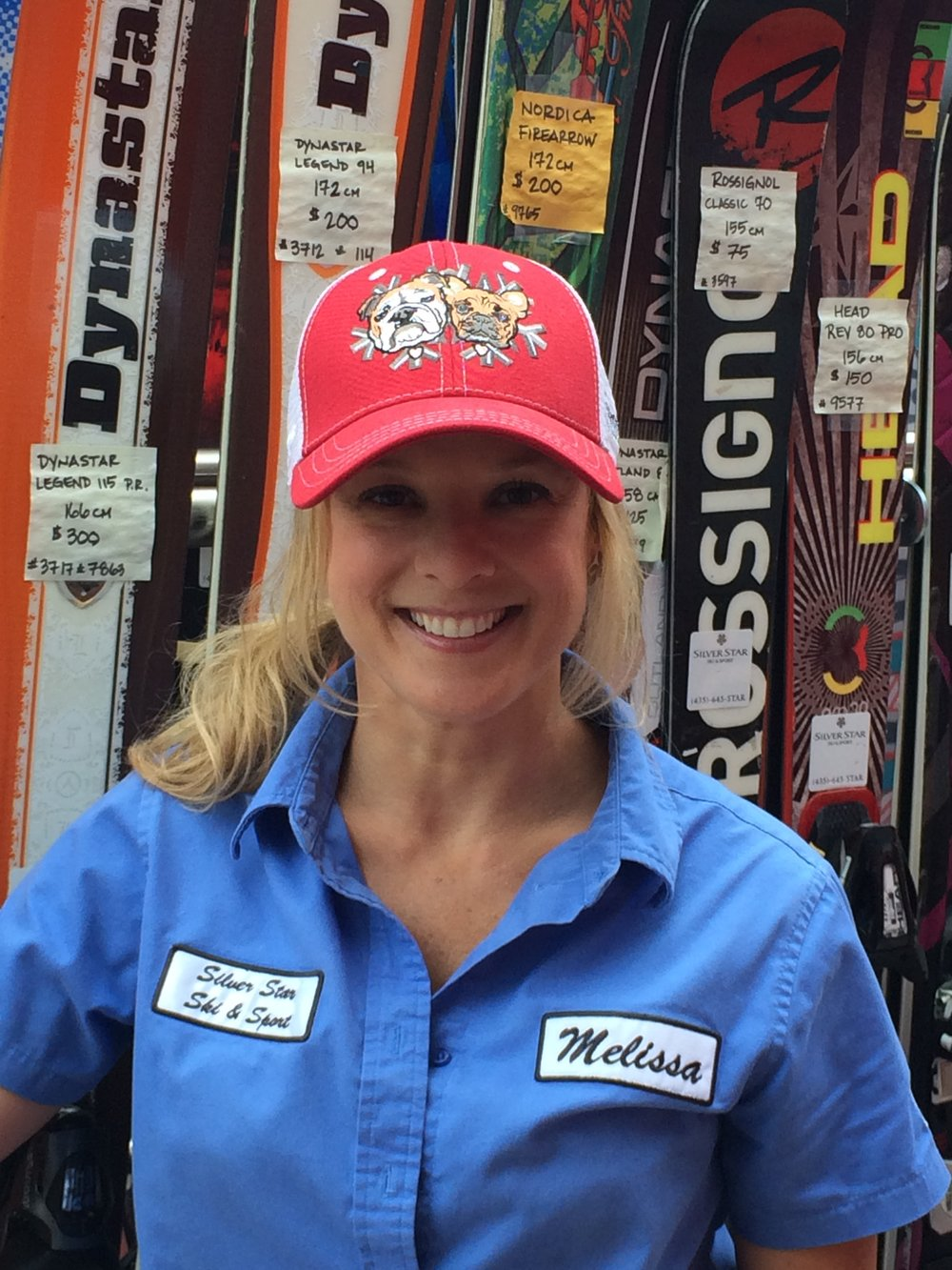 Melissa - Sales Associate - Melissa has been with Silver Star Ski & Sport since fall of 2013.  Her and her husband hail from Tennessee but their love for the mountains called them out west.  Her southern charm is infectious!