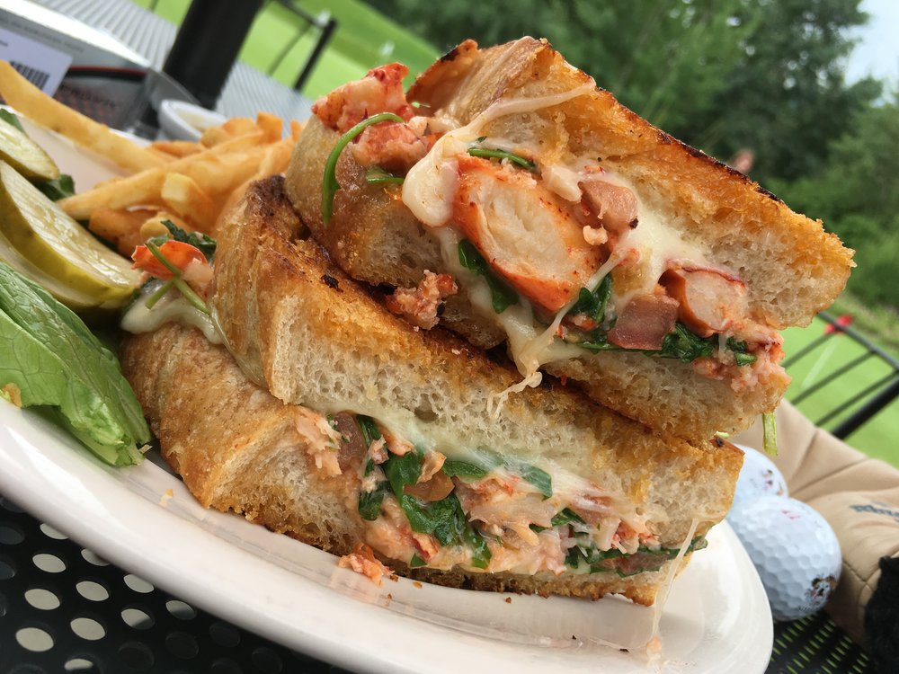 Bandana's lobster grilled cheese