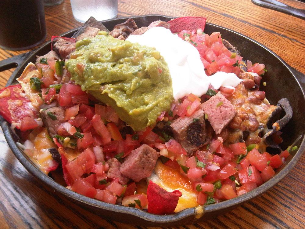 Tri-Tip nachos from Bandit's on Main Street.