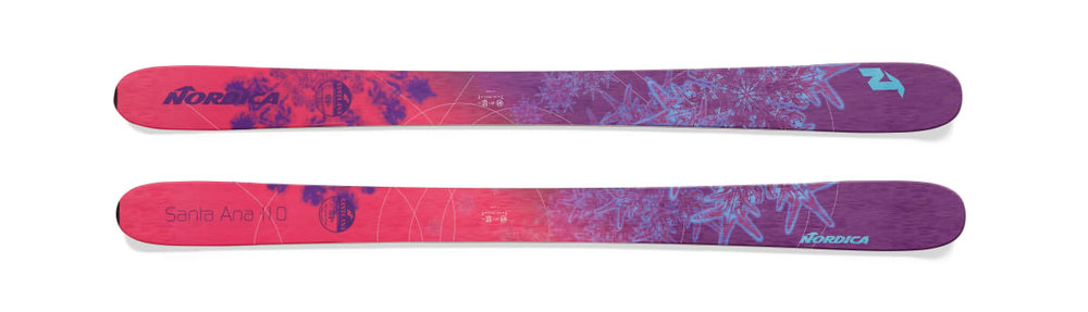 Nordica Santa Ana 110 available in 161cm and 169cm