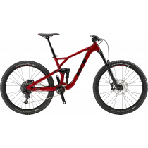 The GT Force Comp is our main full suspension rental option. It's a super fun all around bike with 27.5 wheels and is available in small, medium, large and XL sizes.