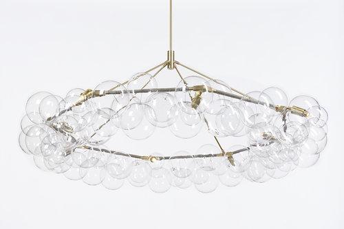 Wreath bubble chandelier radnor wreath bubble chandelier aloadofball Image collections