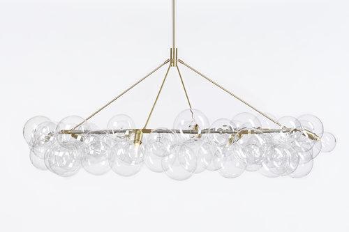 Wreath bubble chandelier radnor wreath bubble chandelier aloadofball Images