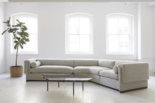 Howard Sectional V Shaped Sofa Radnor