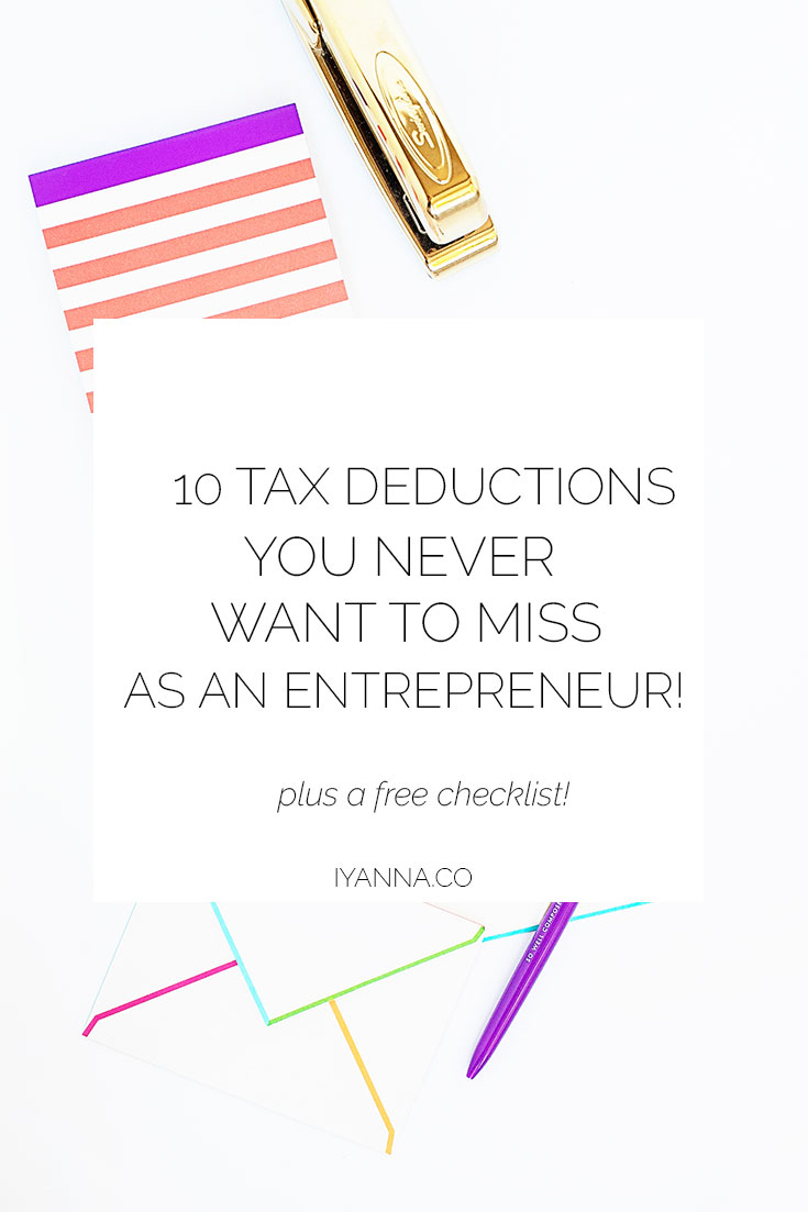 As an entrepreneur, you want to make sure that you never leave money on the table. Here are 10 tax deductions all online entrepreneurs should never miss!