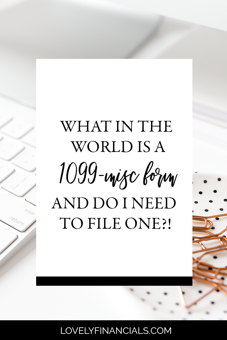 Do you have a team?! Wondering if they way you paid them throughout the year qualifies you to file a 1099?! This post can help!