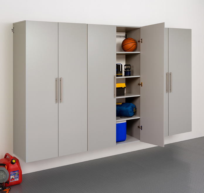 "HangUps 108"" Storage Cabinet Set E - 3pc  Set E Includes: 3 x 36"" Large Storage Cabinet 82 Cubic feet"