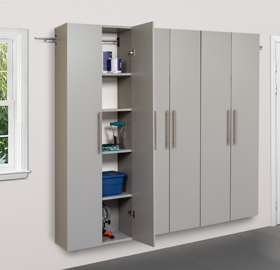 "HangUps 72"" Storage Cabinet Set C - 3pc  Set C Includes: 3 x 24"" Large Storage Cabinet 31 Cubic feet"