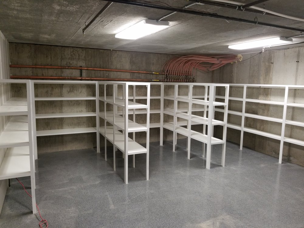 utility shelving overview