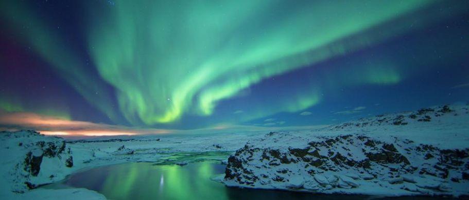 Northern Lights, Iceland (Credit: Icelandonline.com)
