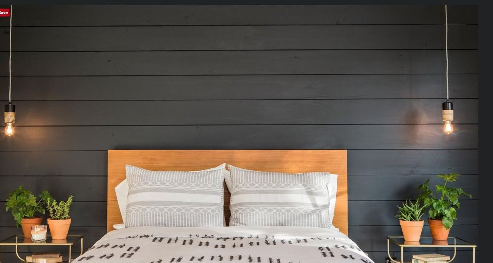 More of a modern or contemporary look in black. via  HGTV