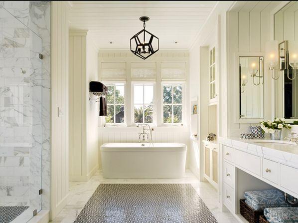 all bathroom photos via  homedesignlover