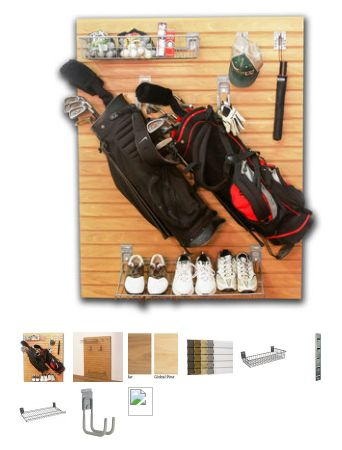 Double Golf Bag Kit