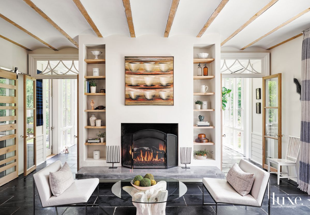 All 3 family room photos are from  Luxe .