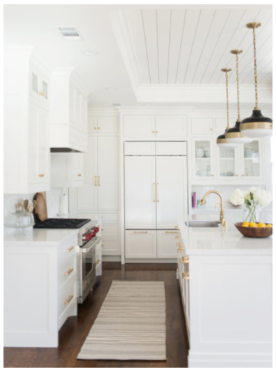 All 4 kitchen photos are from  Studio McGee .