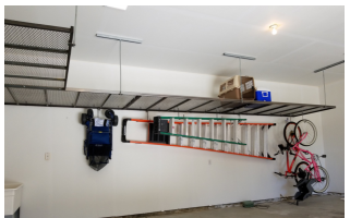 Overhead storage  in your garage