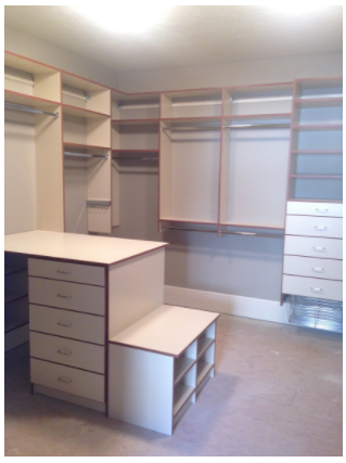 Professionally designed  closets