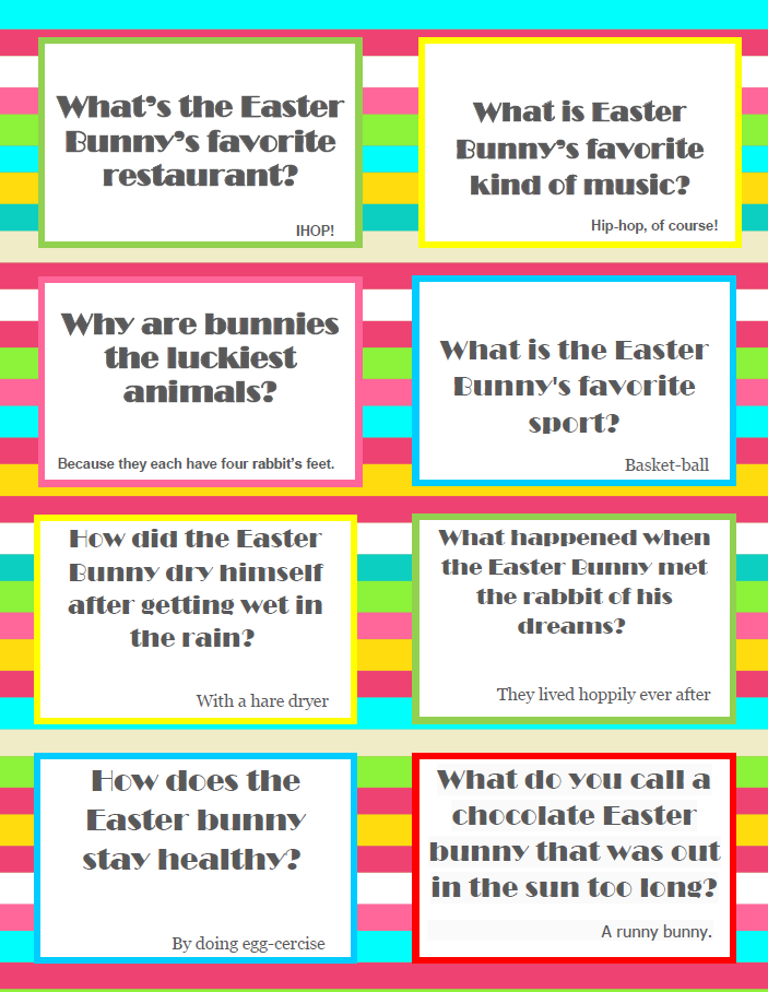 You can find the joke cards  HERE  to print - and yes, it goes straight to the pdf!