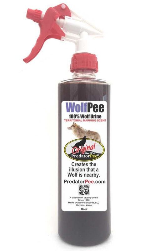 4. Wolf Pee Pee For Pests - Predator Pee - 100% Wolf Urine, $35, AmazonIt's a bottle of wolf piss. So what? Big deal. Never bought wolf pee before? There's no better way to organically deter pests from creepin' up in your hood than by spraying some wolf piddle around your yard. You've heard of eye of the tiger... here's bladder of the wolf.