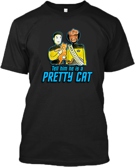 Tell Him He Is A Pretty Cat -