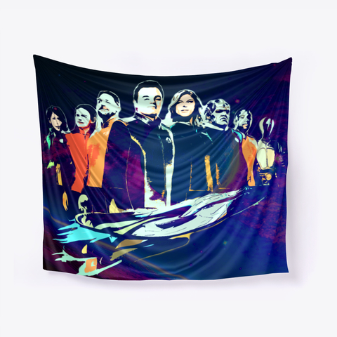 The Orville Bridge Crew Wall Tapestry -