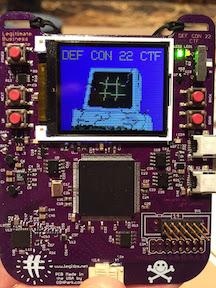 DEF CON CTF 22 Badge (2014)