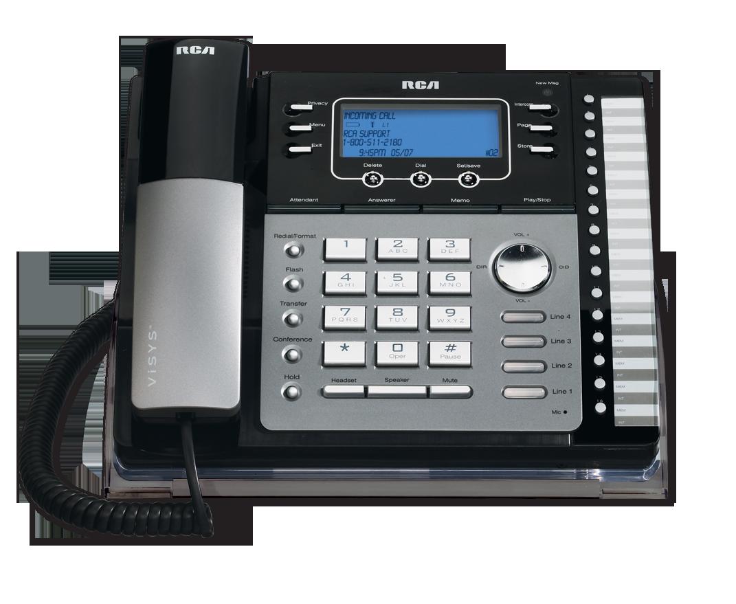 4 line small business system desk phone rca by telefield rh rca4business com rca 4 line phone 25425re1 manual rca 25424re1 4-line expandable system phone manual