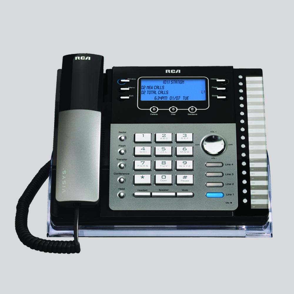4 line phones rca by telefield rh rca4business com