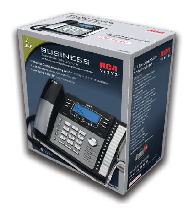 Great For Offices Needing Up To 16 Stations, Our 4 Line Phones Will Grow  With Your Business For Years To Come.