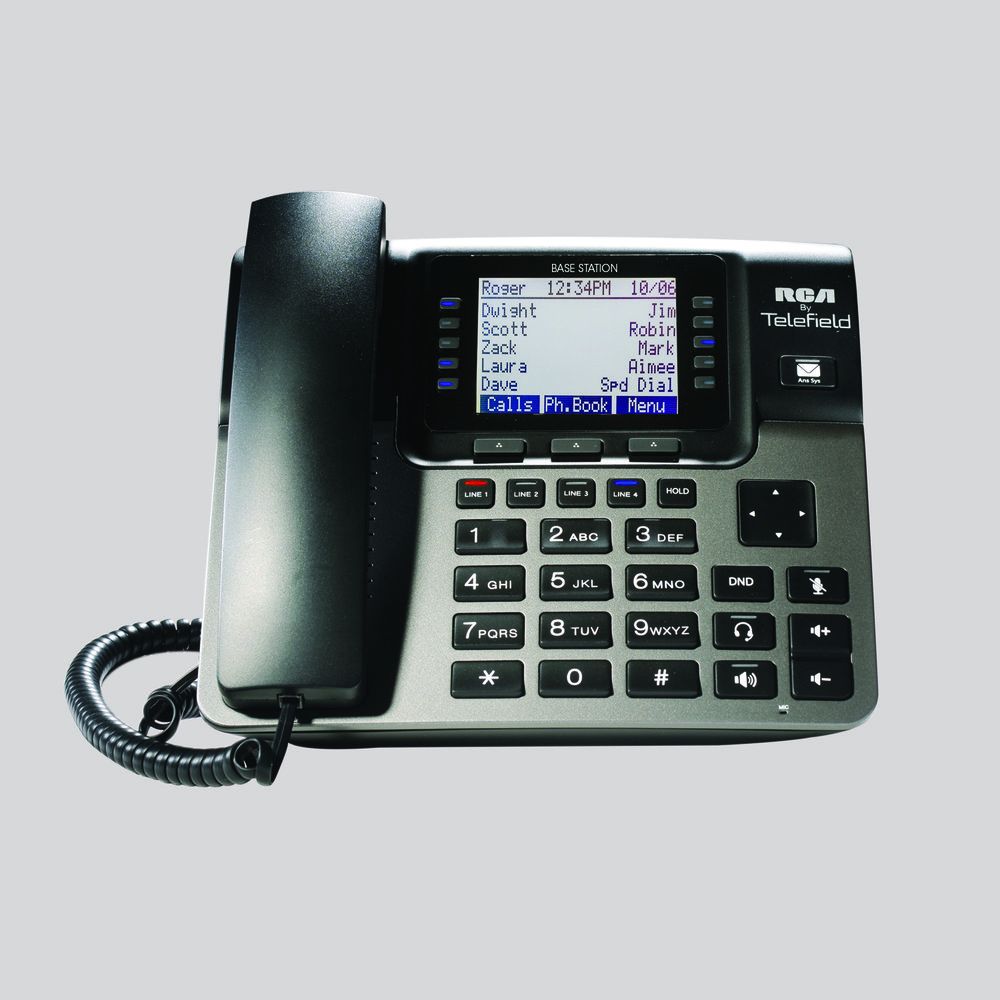 rca by telefield rh rca4business com RCA ViSYS Telephone RCA 25424RE1 Phone Manual