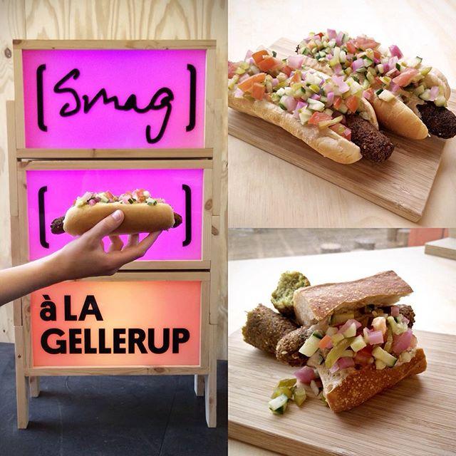 Den kommende tid kommer til at byde på falafel i mange former. Vores nye initiativ, Falafelligaen, har i dag kombineret falaflen med en dansk fastfood-klassiker. Du kan måske gætte hvilken? #instantcity #falafelligaen