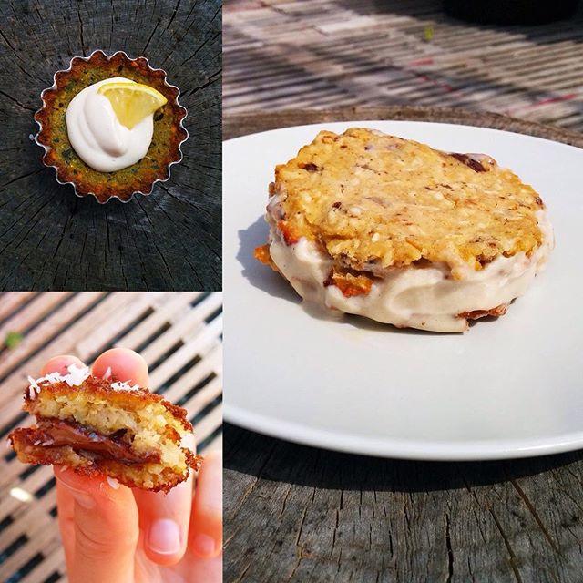 Falafel som dessert? Ja tak! Denne #falafelfredag har vi kreeret søde sager, blandt andet falafel med blødende hjerte af smeltet chokolade. Se flere lækkerier på vores Facebook: https://www.facebook.com/smagalagellerup/