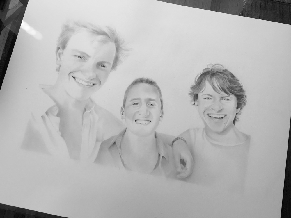 alex, max, cole (commission, SOLD)