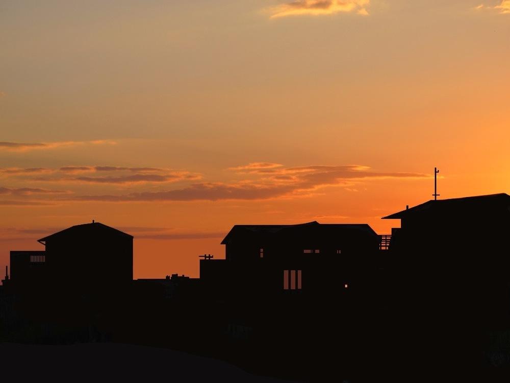 beach at sundown, 2012 (inquire for price)