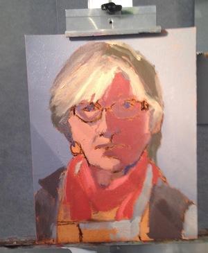 Robin Wallace Self Portrait