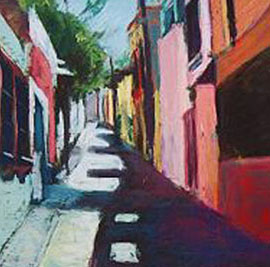 Street Shadows - Sold
