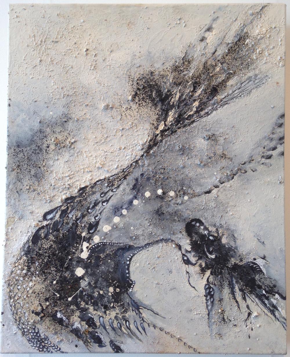 'Spring Equinox IV' Maddie Rose Hills 41cm x 51cm Mixed Media £850