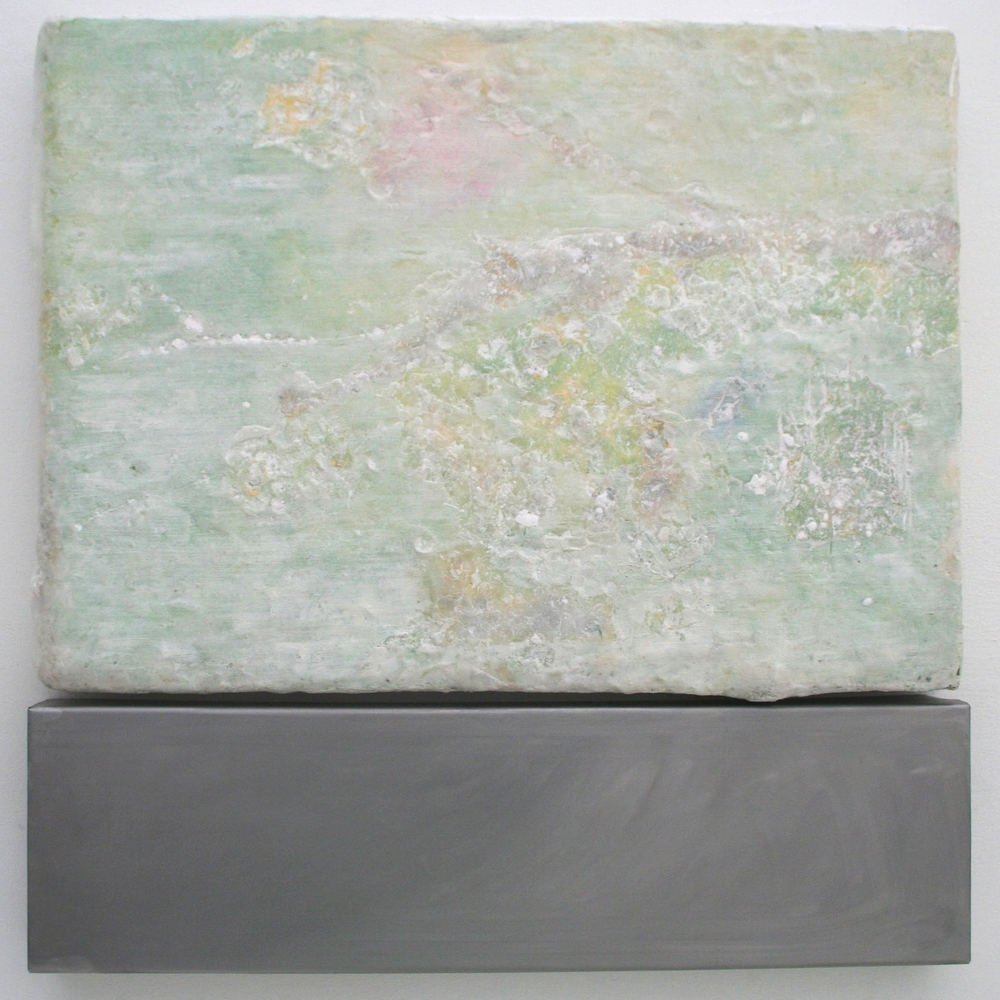 'Wax vs Metal'   Connie Harrison  62cm x 62cm  Mixed Media   SOLD