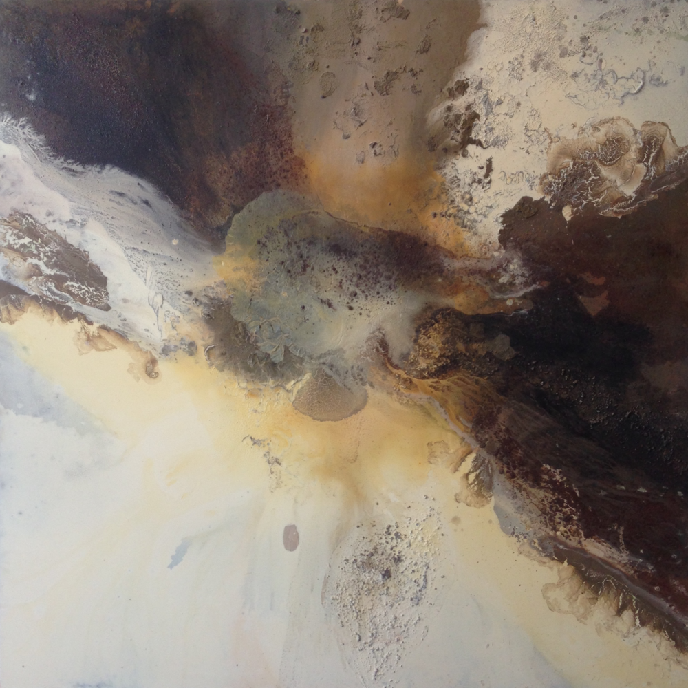 'Crevice' Maddie Rose Hills 160cm x 160cm Mixed Media £6,000