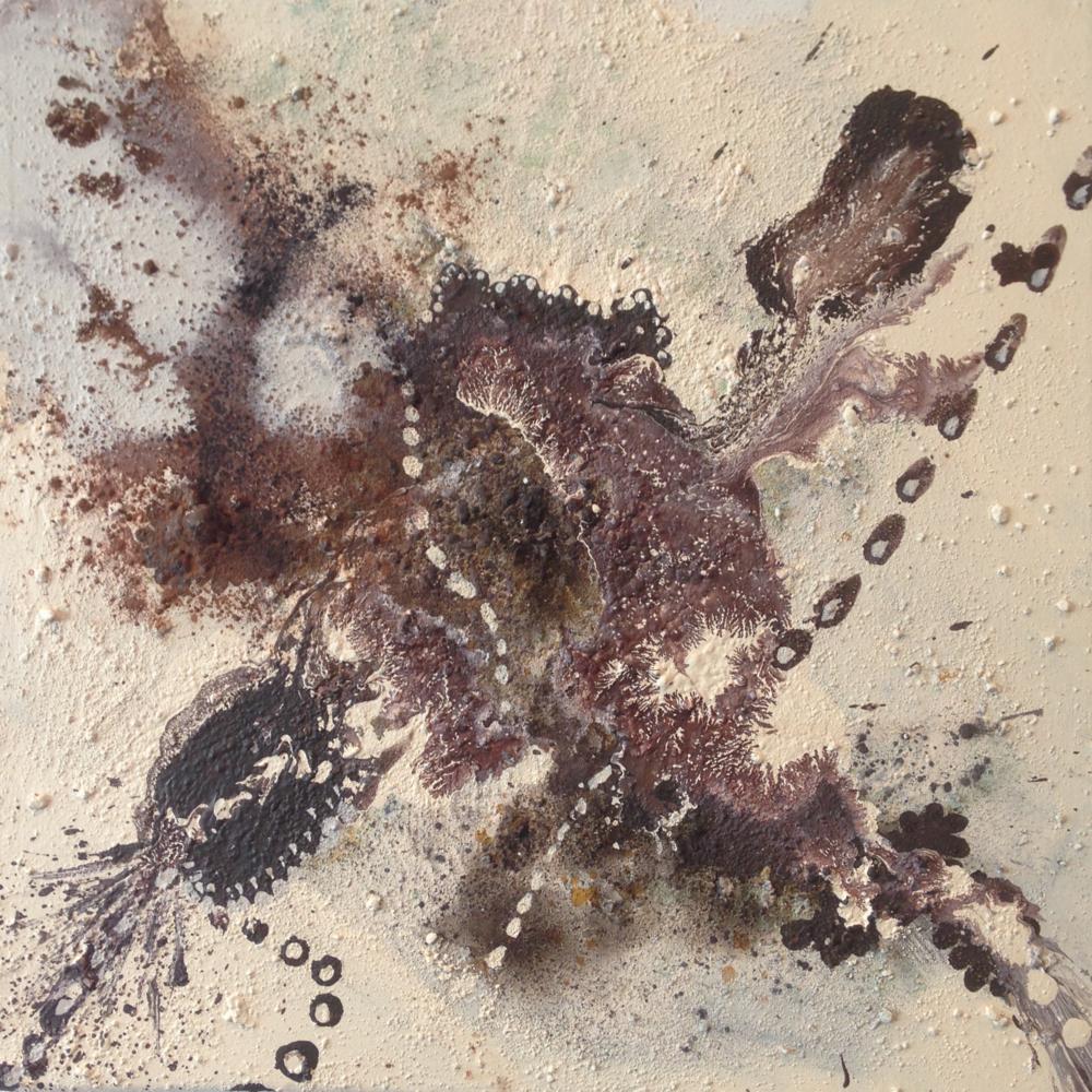 'Spring Equinox II' Maddie Rose Hills 40cm x 40cm Mixed Media £750