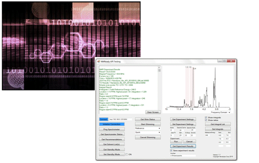 there are currently two ways to communicate with a spectrometer using microsoft net or the json data interchange format