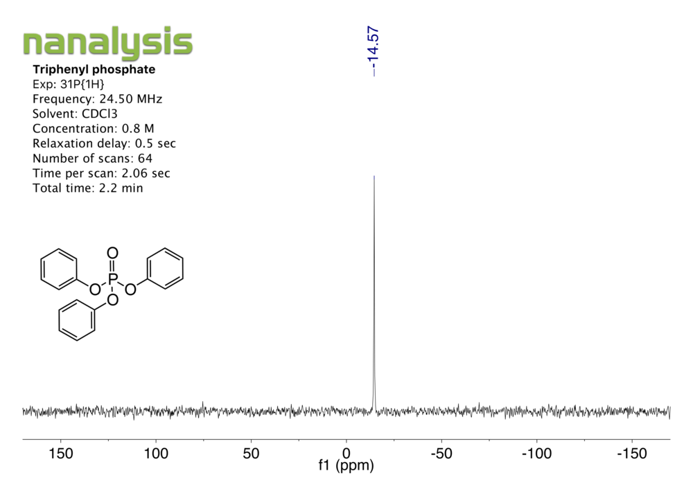 triphenylphosphate-2_31P_benchtopNMR.png