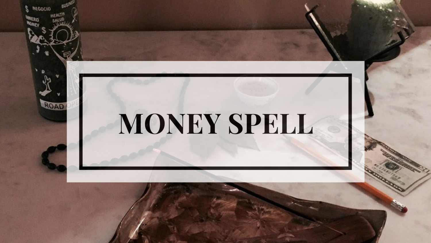 Money Spell — ARCANE ALCHEMY
