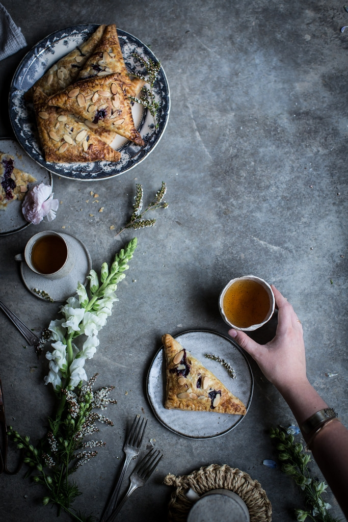 Lavender Blueberry & Ricotta Turnovers